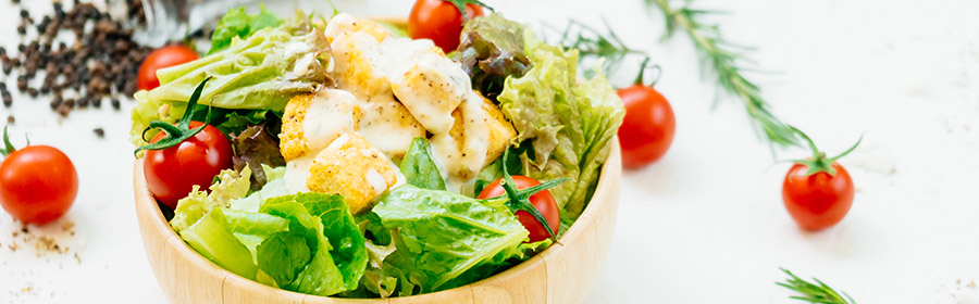 proteine dieet kipsalade