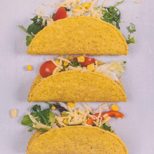 Vegetarische taco's voor Nationale Taco Dag