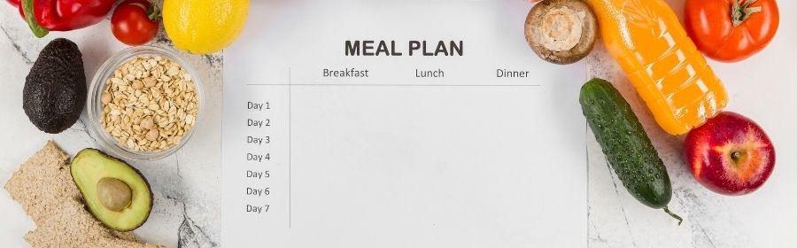 Zelf een dieetschema maken