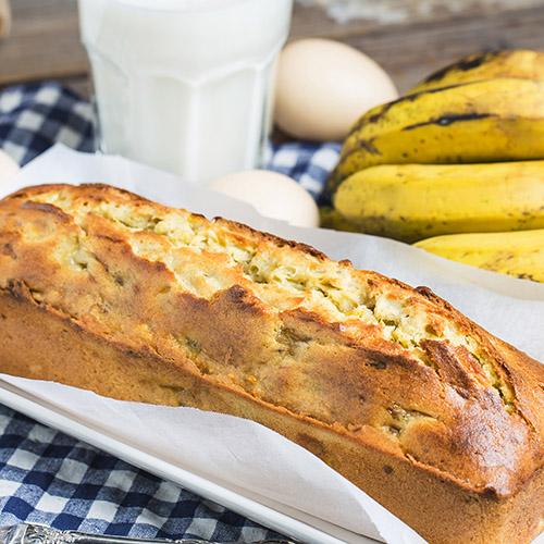 gezonde snacks bananenbrood