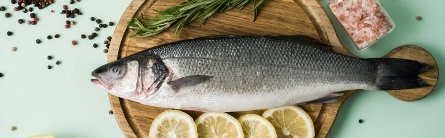 Vis eten bij mediterraan dieet