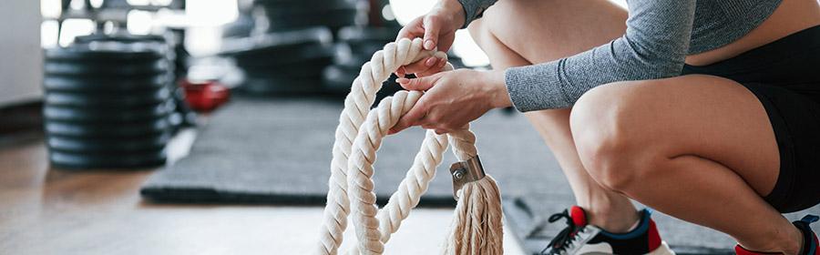 afvallen met crossfit touwen