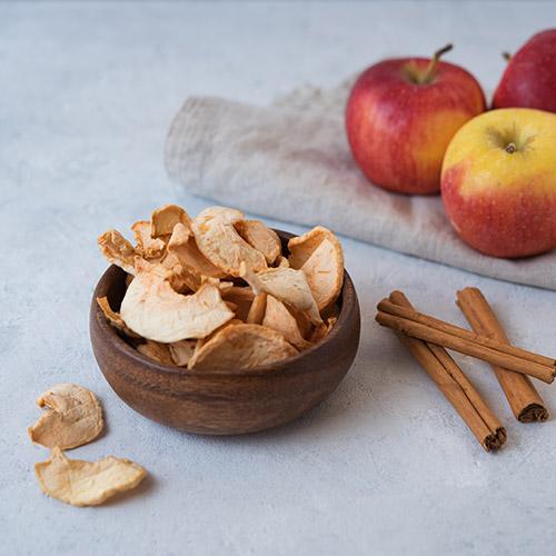 gezonde snack appelchips