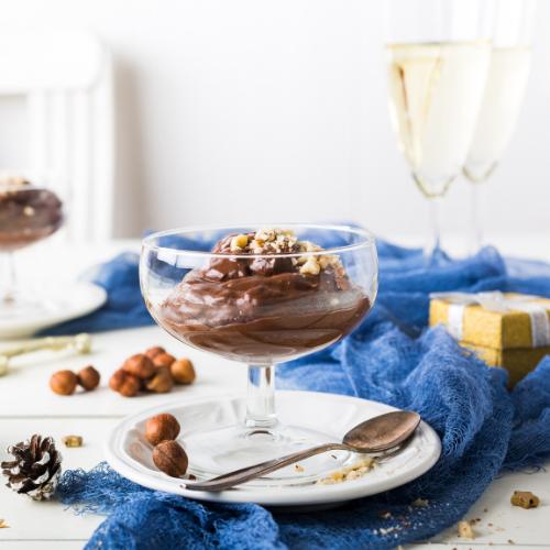 Gezonde kerst recepten - Chocolade Avocado Mousse