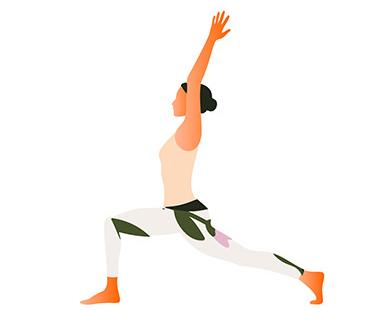 yoga-oefeningen-crescent-moon-pose