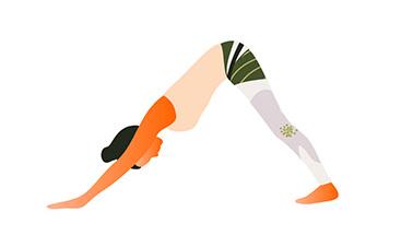 yoga-oefeningen-downward-dog
