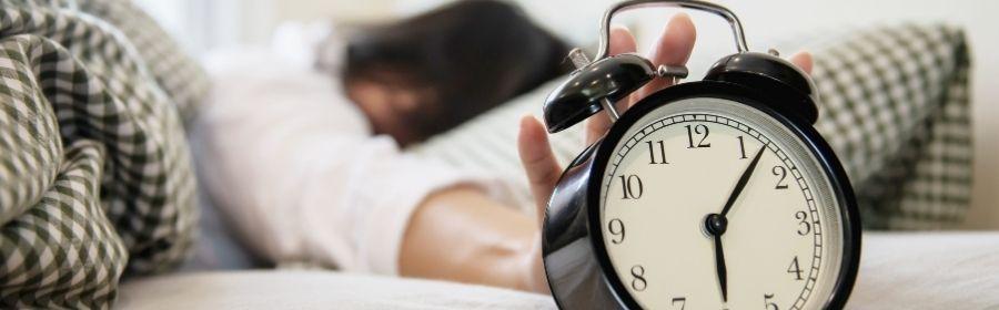 Slaap en afvallen voldoende nachtrust