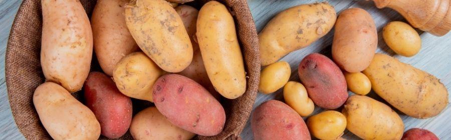 Aardappelen vs zoete aardappelen