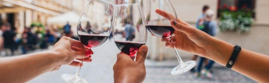 Rode wijn bij SIRTfood dieet